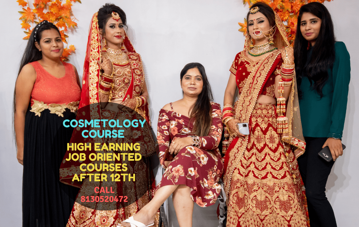 Cosmetology Course from Meribindiya Academy Noida: High Earning Job Oriented Courses After 12th