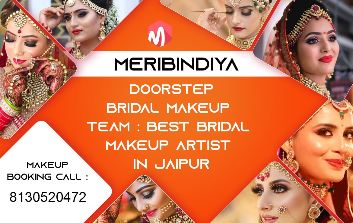 Best Freelance Makeup Artist in Jaipur: Meribindiya Makeup Artist Team